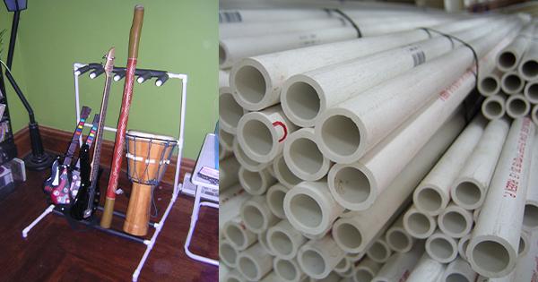 10 kratívnych spôsobov využitia PVC rúr