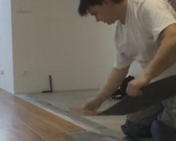 Ako nalepiť vinylovú podlahu