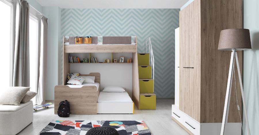 Ako vybrať tú najlepšiu poschodovú posteľ pre svoje dieťa?