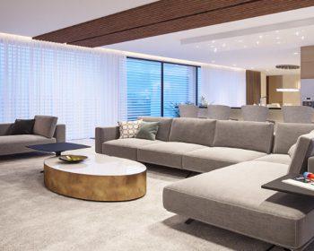 Návrhy interiérov bytov adomov