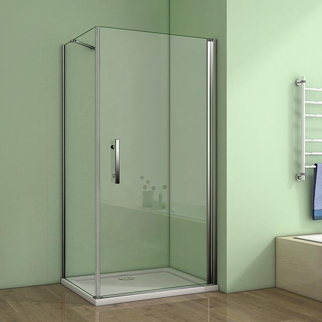 Typy konštrukcií sprchových kútov