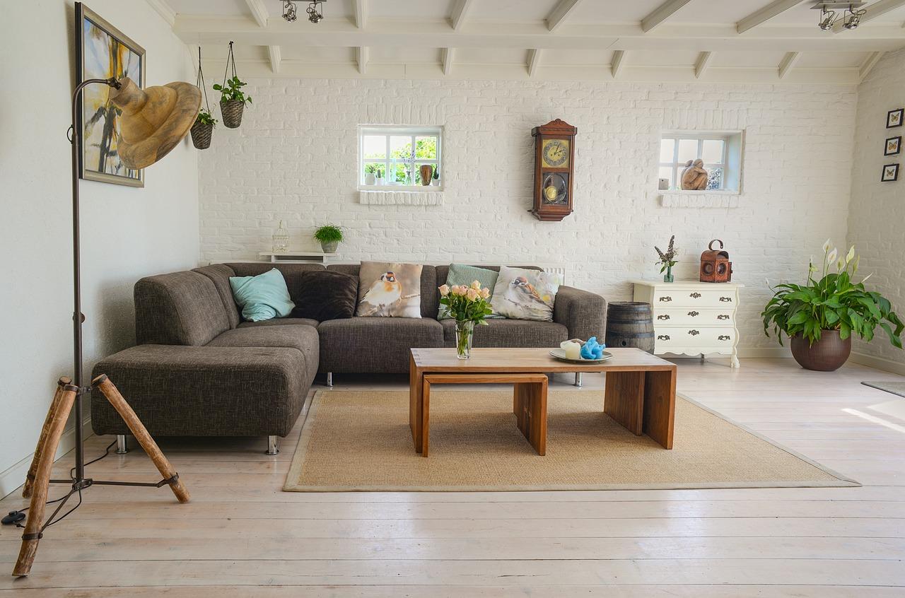 Pekná obývačka je výsledkom vašej kreativity (Zdroj obrázka: pixabay.com)